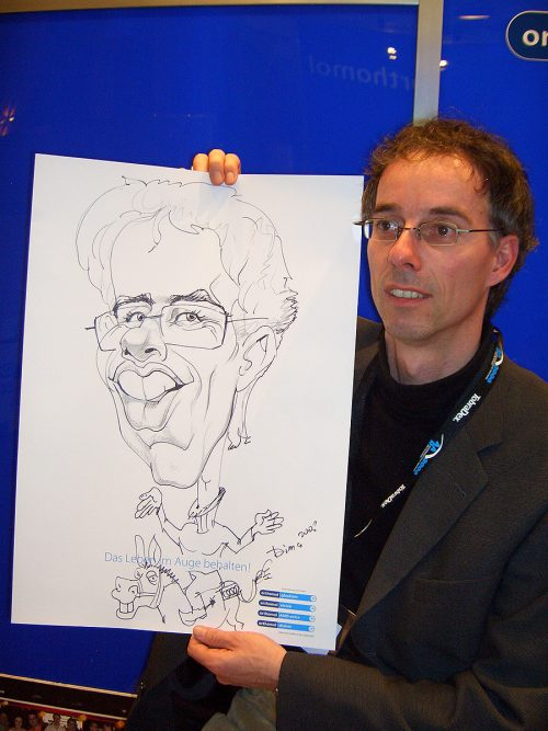 Karikatur mit Motiv