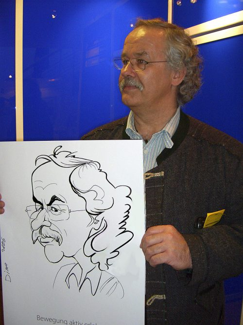 Live Karikatur A2 Format