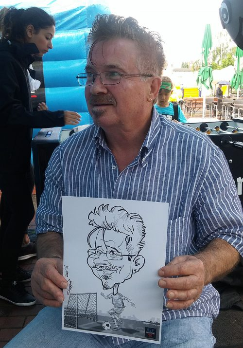Live Karikatur A4