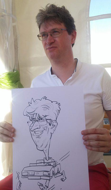 Live Karikatur A4 Format