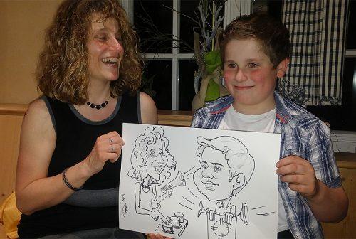 Live Karikatur