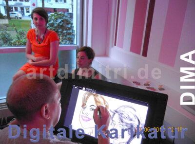Digitale Zeichnungen, Karikaturen